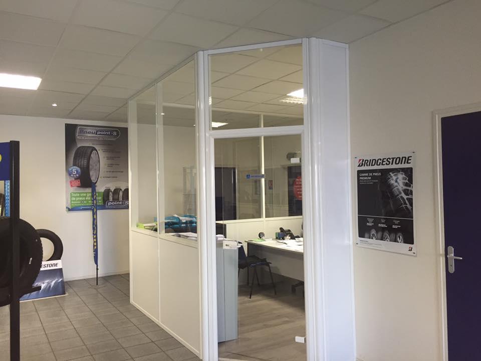 Cloison modulaire - Plaf'déco spécialiste de l'isolation, plafond suspendu, platrerie, menuiseries, dressing, placards