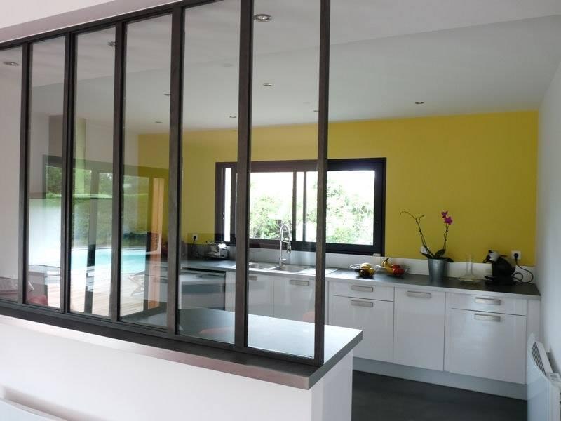 Cloison en verre - Plaf'déco spécialiste de l'isolation, plafond suspendu, platrerie, menuiseries, dressing, placards