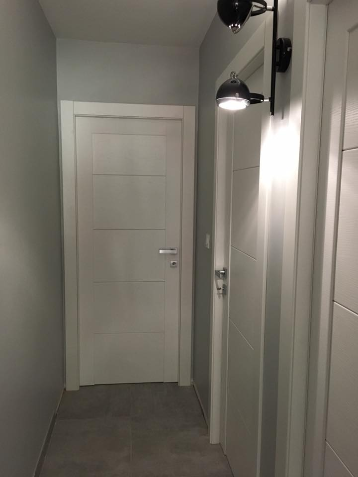 Porte italienne - Plaf'déco spécialiste de l'isolation, plafond suspendu, platrerie, menuiseries, dressing, placards